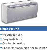 Unico Fit air conditioning Unit